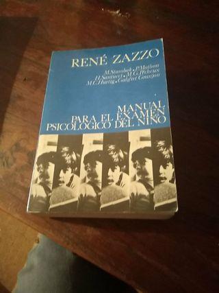 * Manual para el examen psicológico del niño Zazzo