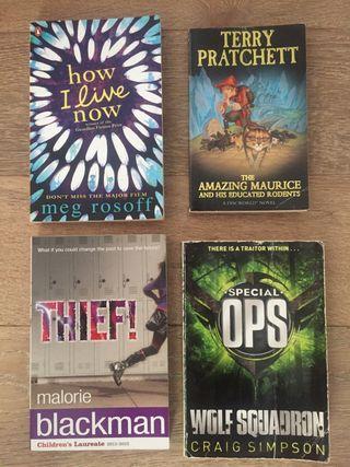 Novelas juvenil inglés