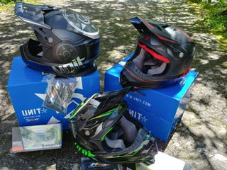 casco enduro dh integral motocross