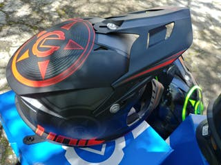 casco enduro dh integral motocross