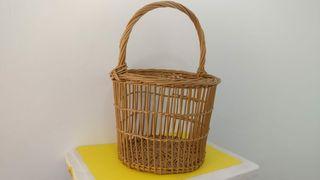 cesta de mimbre de vallada