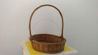 cesta mimbre de vallada
