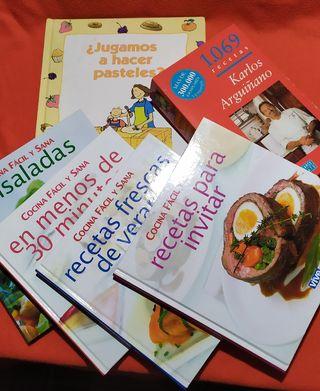 Libros de cocina.