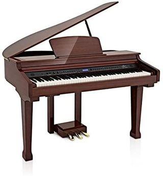 Piano de Cola Digital GDP-100 de Gear4music - Caob