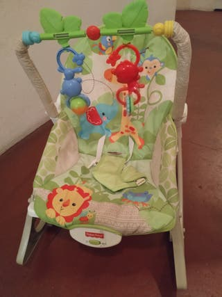 Hamaca Fisher price modelo monitos divertidos