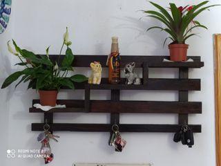 accesorios de madera para entrada comedor