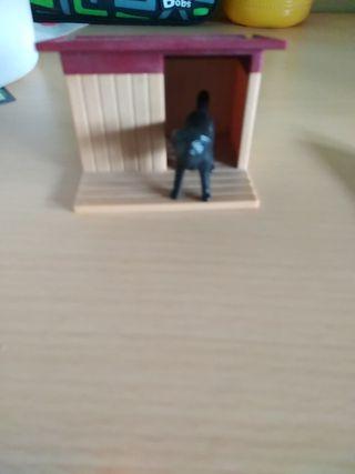caseta de perro Playmobil