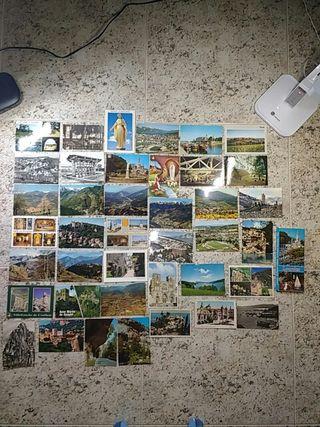 Lote de 41 postales de Francia