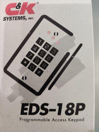 Teclado de acceso digital programable EDS 18P