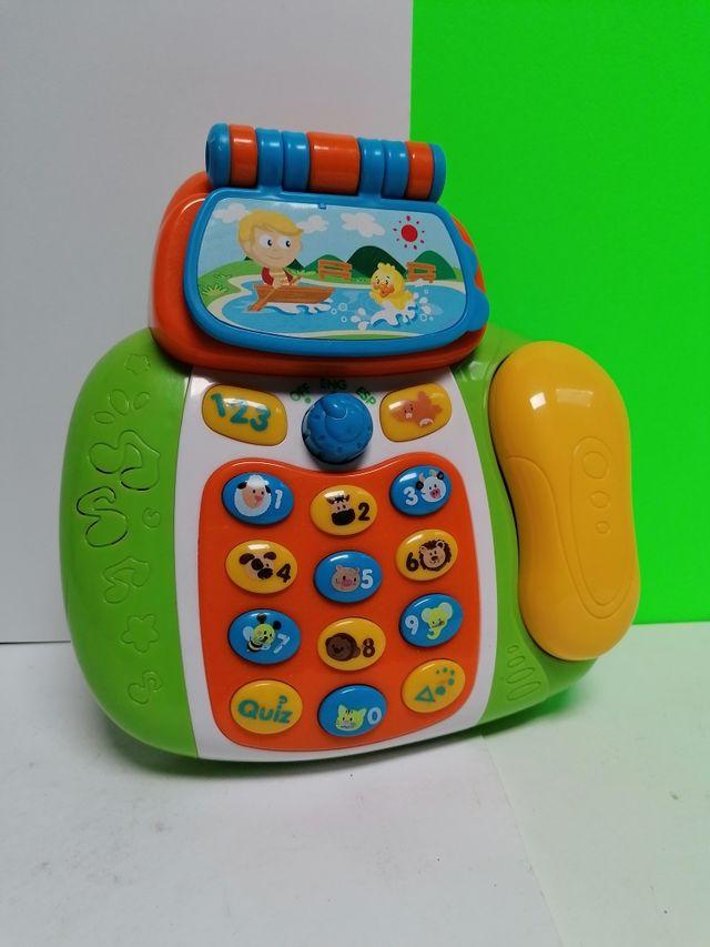 TELEFONO INTERACTIVO HAP-P-KID PEQUE PERFECT!!