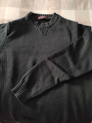 Jersey Negro Zara Men Talla M