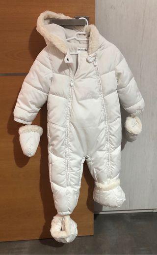 Buzo bebé blanco MAYORAL