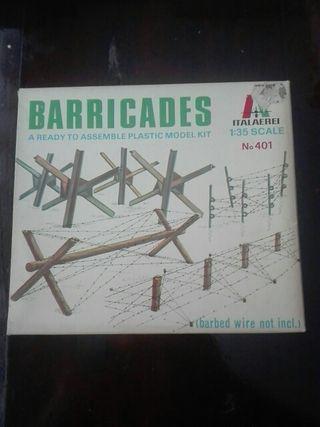 BARRICADAS ITALAEREI MAQUETA 1/35