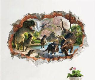dinosaurios vinilo decorativo pegatina