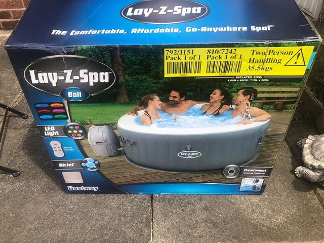 Lazy spa hot tub BALI