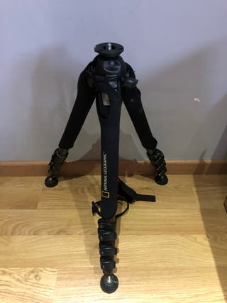 Manfrotto carbono national geographic.