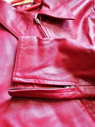 chaqueta americana piel