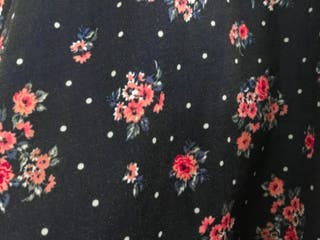 Falda- pantalón floreada