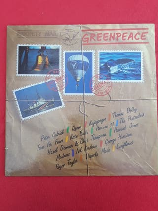 GREENPEACE LP Vinilo