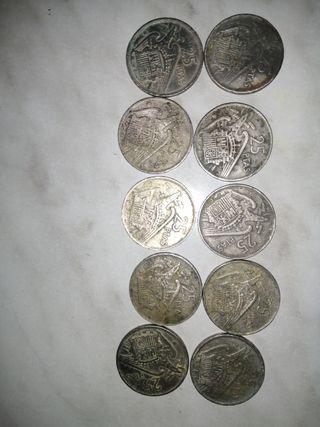 monedas de 1957