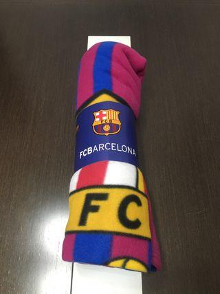 Manta polar FC Barcelona