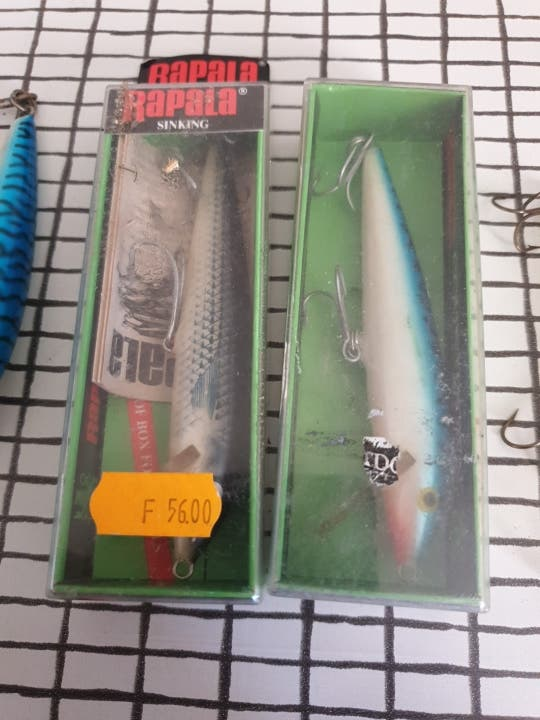 Señuelos de pesca marca RAPALA