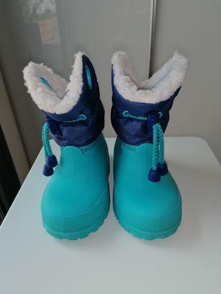 Botas de agua/nieve bebé número 21