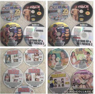 Adult DVDs