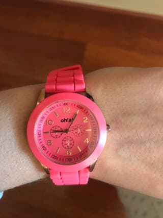 Reloj ohla! Rosa