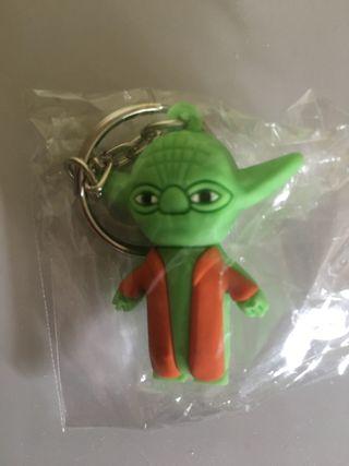 Brand new sealed Star Wars Yoda keyring