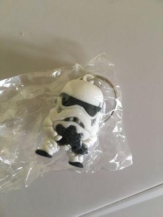 Brand new sealed Star Wars Stormtrooper keyring