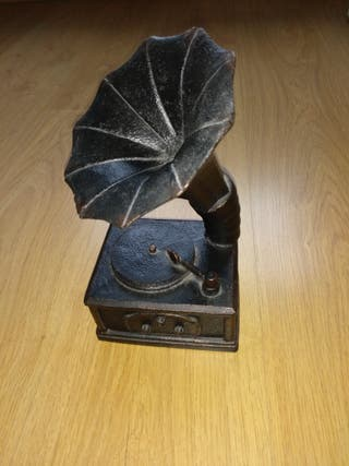 Gramófono decorativo