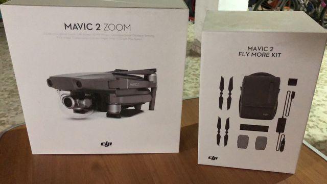 Mavic 2 zoom + fly more kit