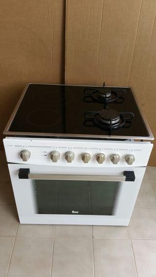horno + encimera mixta