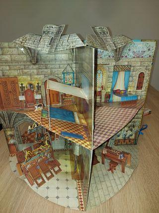 """""""Castillo Medieval"""" en tres dimensiones"""