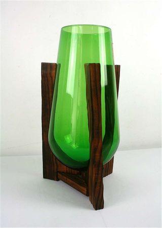 Accesorio de Mesa Color Verde Cristal, tama/ño /único Serax Fish /& Fish
