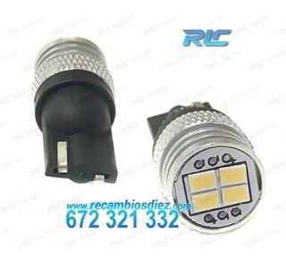 BOMBILLAS LED BLANCO DIAMANTE W5W/T10 - BLACK SERI