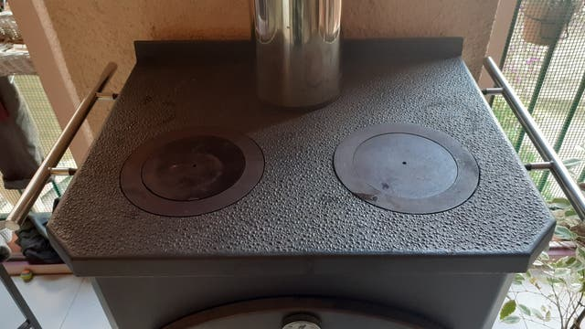 Estufa de leña Bronpi Monza