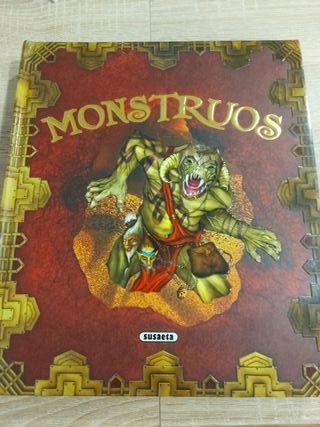 libro pop up MONSTRUOS