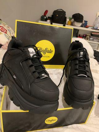 Zapatillas Buffalo negras talla 41 ORIGINALES