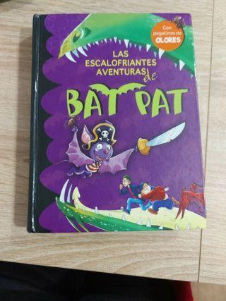 "libro ""las escalofriantes aventuras de Bat Pat"""