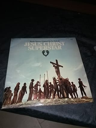 "Doble disco vinilo BSO ""Jesucristo Superstar"""