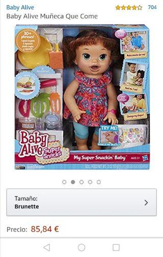 muñeca que come