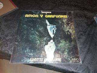 Disco vinilo homenaje a Simón y Garfunkel