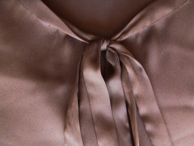 zara. blusa marrón