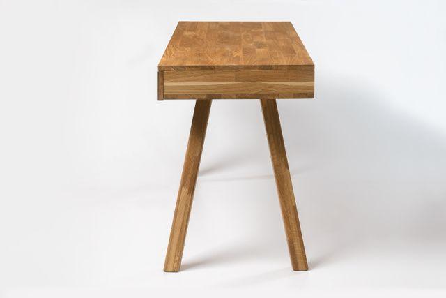 Escritorio madera maciza roble mesa oficina nordic