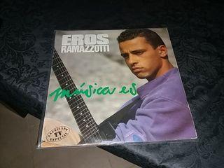 Disco vinilo Eros Ramazzotti.