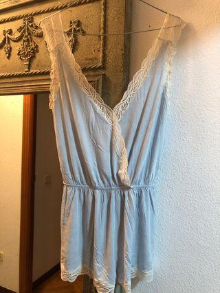Pijama Camison Tirantes Encaje