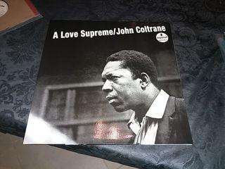 Disco vinilo John Coltrane. Reedicion 180grs