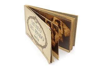 Bloc con 20 postales Museo del Prado Goya Retratos